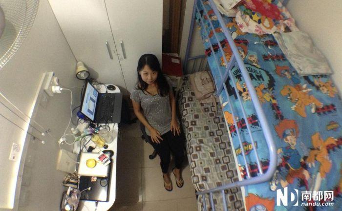 香港4平米蝸居_39平米蝸居的高效設計 看看能住多少人